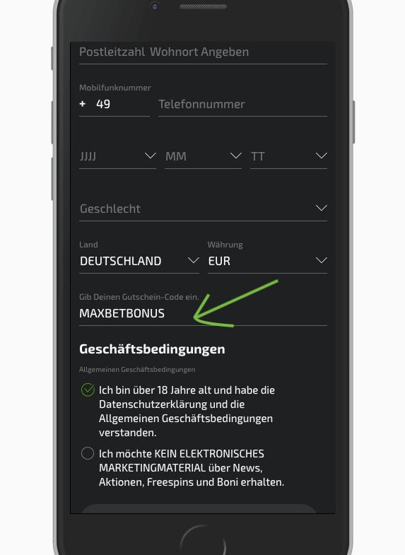 Mobilebet Gutscheincode