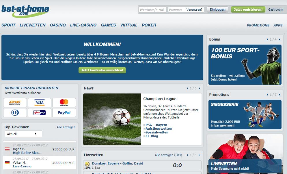 bet-at-home Deutschland