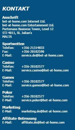 kundensupport bet-at-home