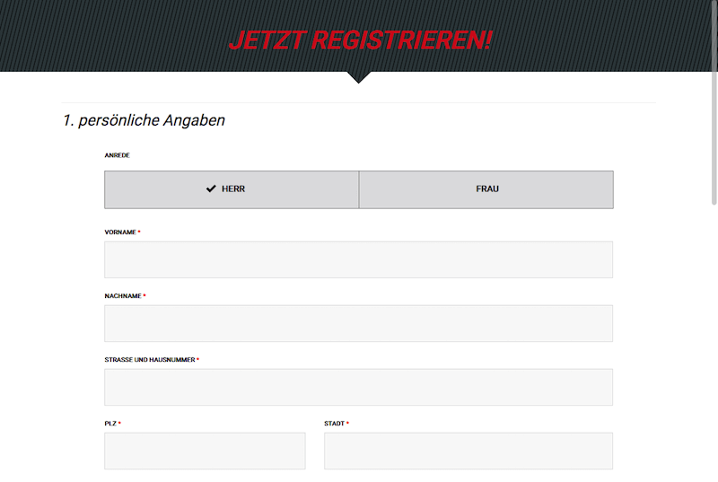 Tipxpress Registrieren