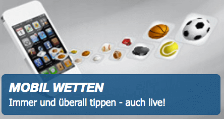 Bet-at-home Mobiles Wetten