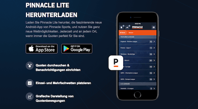 Pinnacle Mobil / App