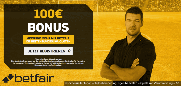 Betfair Wettanbieter WM 2018