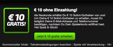 Mobilebet 10 Euro