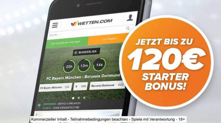 wetten.com bonus 2018