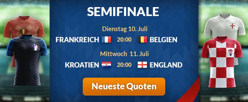 Halbfinale WM 2018 bet365