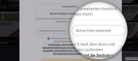 Netbet Bonus Code