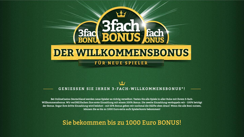 onlinecasino bonus