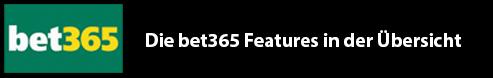 Entdecke die bet365 Features