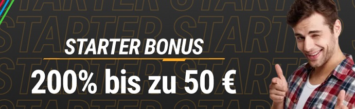 Neobet Starter Bonus